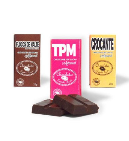 Kit 3 unidades TPM - Chocolates Espírito Santo