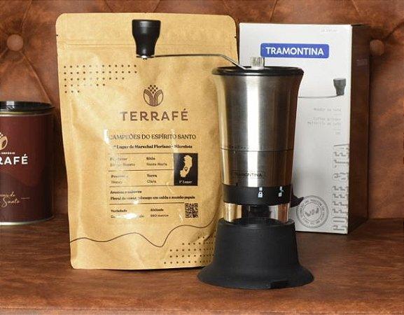 Microlote Terrafé + Moedor de Café Tramontina