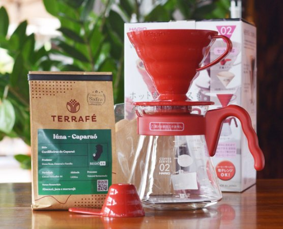 Kit v60 Red + Microlote - Iúna Cordilheiras do Caparaó