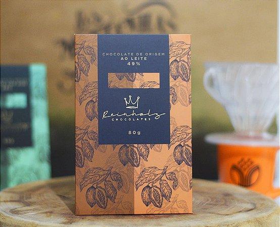 Chocolate ao leite 49% Reinholz - 80g