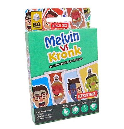 Melvin vs Kronk - Jogo de Cartas
