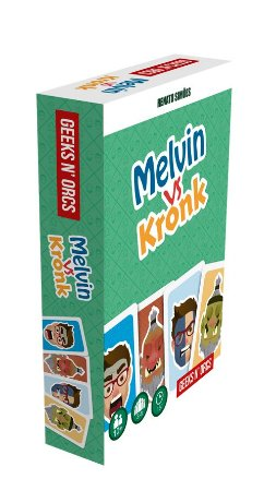 Melvin vs Kronk - Caixa Rígida