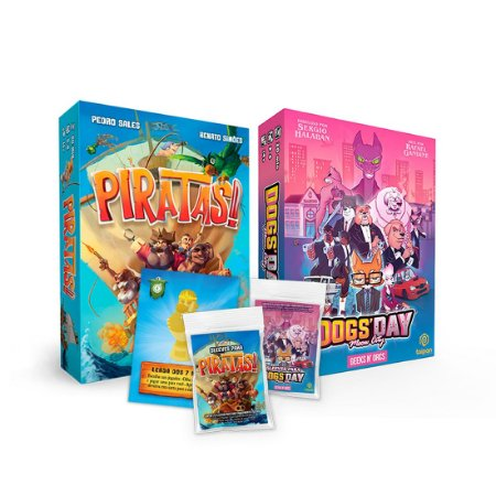 Combo - Piratas! + Dogs' Day + Sleeves
