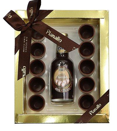 Copinhos de Chocolate com Licor