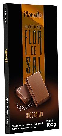 Barra de Chocolate ao Leite com Flor de Sal