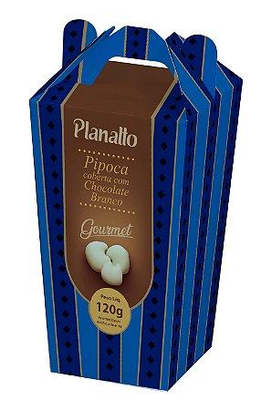 Pipoca coberta com Chocolate Branco - Gourmet - 120g