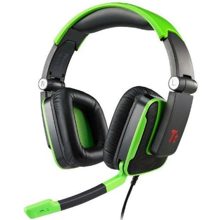 HEADSET THERMALTAKE TT ESPORTS CONSOLE ONE USB HT-SHO001ECGR - BOX