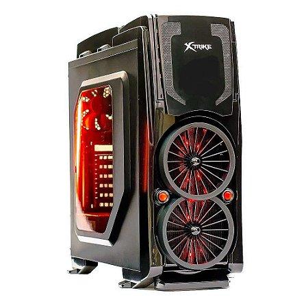 Gabinete Xtrike Bi Turbo S/Fonte - ( Caixa Colorida / 1 Fan 120mm Traseiro )PN # 636B