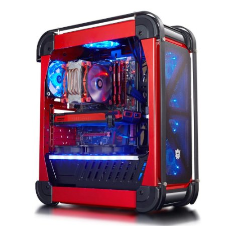 Gabinete Xtrike Gaming VOLCANO - PN # G8 BK/RED