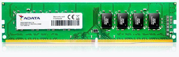 MEMÓRIA A-DATA 8GB 2400MHz DDR4 DIMM CL17 - PN # AD4U240038G17-S