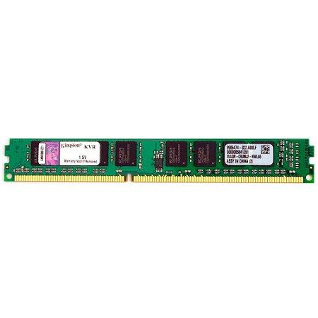 Memória Kingston 4GB CL9 1333MHz DDR3 DIMM - Single Rank - PN # KVR13N9S8/4