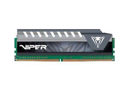 Memória Patriot Viper Elite 8GB 2400MHz DDR4 DIMM CL16 HS Cinza - PN # PVE48G240C6GY