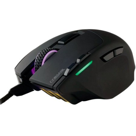 Mouse Corsair SABRE RGB Black Gam. USB Optical 100-10000 DPI - PN # CH-9303011-NA