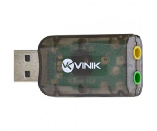 ADAPTADOR PLACA DE SOM USB 5.1 VIRTUAL AUSB51