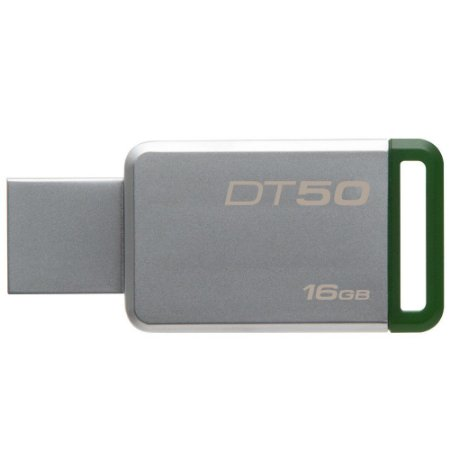 Pen Drive DataTraveler 50 USB 3.0 16Gb Verde PN # DT50/16GB