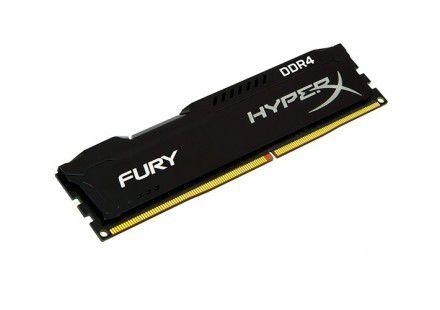 MEMORIA KINGSTON HYPERX FURY 4GB DDR4 2400MHZ BLACK, HX424C15FB/4