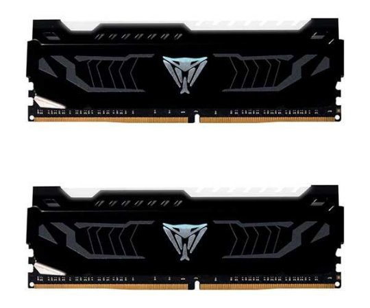 MEMORIA PATRIOT VIPER 16GB(2X8) DDR4 2400MHZ LED BRANCO, PVLW416G240C4K