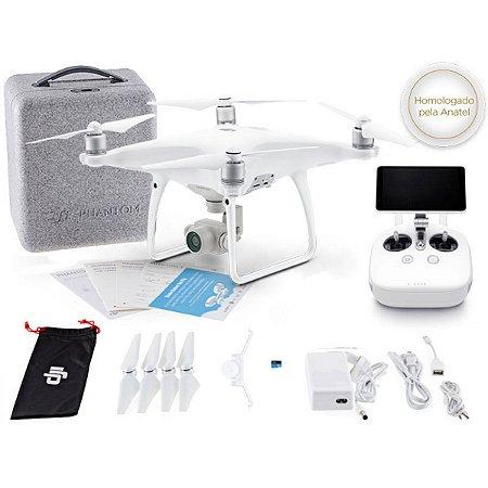 DRONE DJI PHANTOM 4 ADVANCED+ RÁDIO CONTROLE C/ TELA INTEGRADA DE 5.5 POL