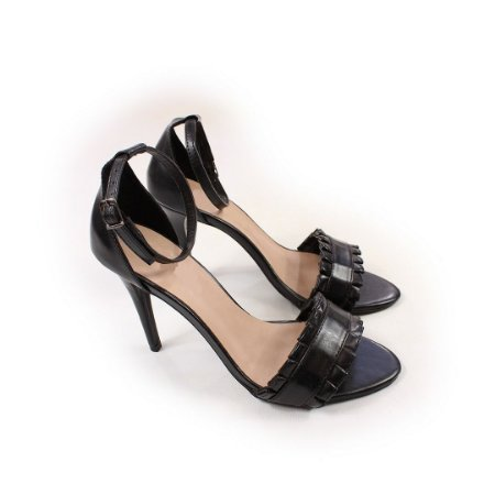 SL2315 - Sandália Salto 9cm preto foaco
