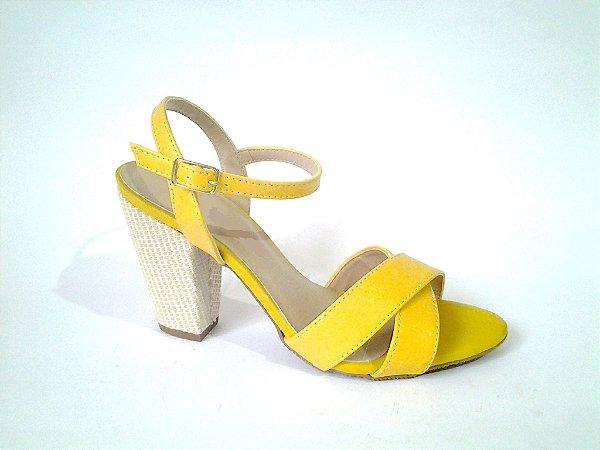 SL5540 - sandália Salto bloco 8cm