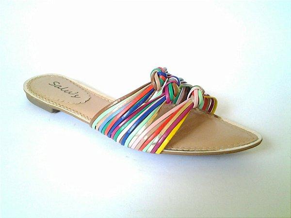 SL4200 - Sandália multicolor rasteirinha