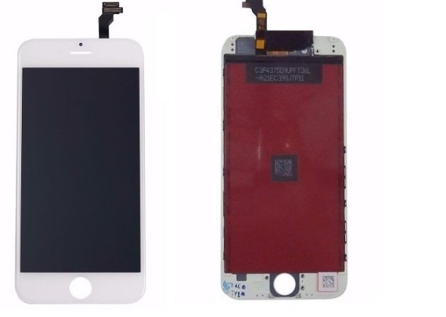 Combo Frontal Display Touch Iphone 6 4.7 Branco