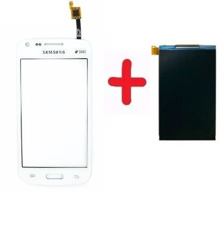 Combo Frontal Display Touch Galaxy Trend 3 Duos g3502/g3502T/3502 Branco