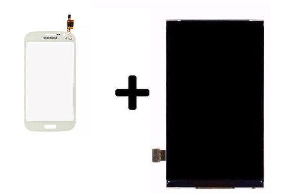Combo Frontal Display Galaxy Gran Duos gt-9082/9082 Branco