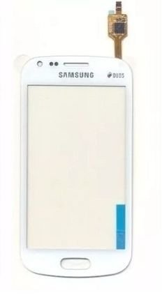 Tela Touch Galaxy S Duos S7562 Branco