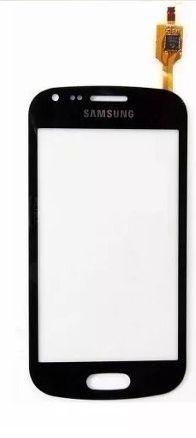 Tela Touch Galaxy S Duos S7562 Preto