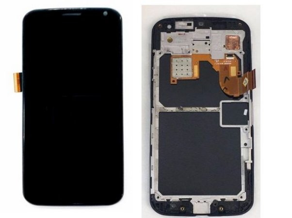 Combo Frontal Display Touch Moto X1 Xt1058 Xt1060 Preto