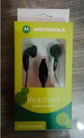 Fone Ouvido Motorola Preto