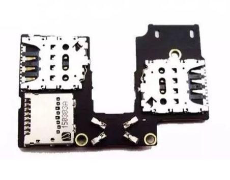 Slot Sim Card Chip Moto G3 Xt1543 Xt1544 G3