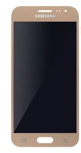 Combo Frontal Display Touch Galaxy J200 j2 Dourado