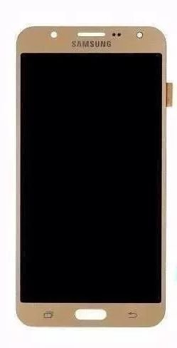 Combo Frontal Display Touch Galaxy J700 J7 Dourado
