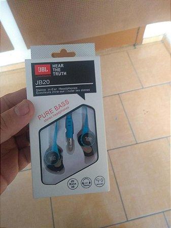 Fone De Ouvido JBL Azul