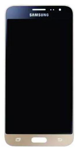 Combo Frontal Display Touch Galaxy J3 J320 Dourado