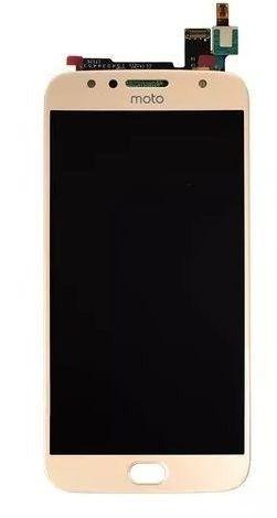 Combo Frontal Display Touch Moto G5s xt1792 Dourado