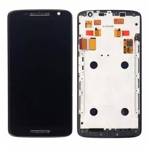 Combo Frontal Display Touch Moto X Play XT1562 XT1563 PRETO