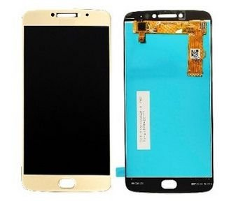 Combo Frontal Display Touch Moto E4 XT1763 Dourado