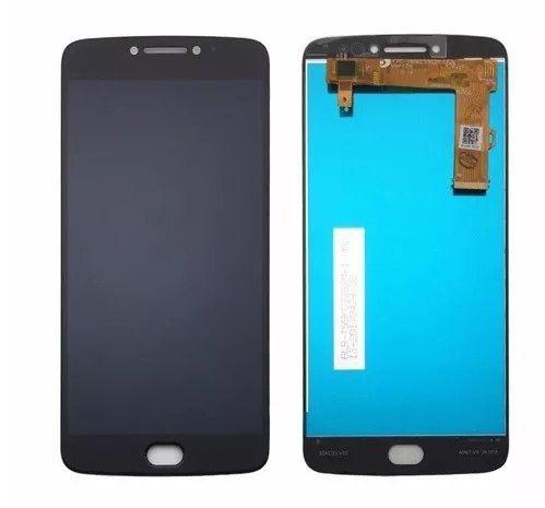 Combo Frontal Display Touch Moto E4 Plus XT1773 XT1770 Preto