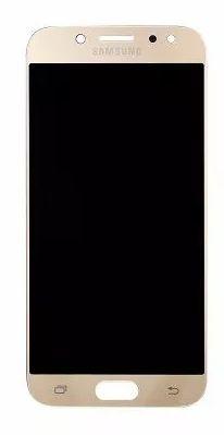 Combo Frontal Display Touch Galaxy J7 Pro J730 Dourado