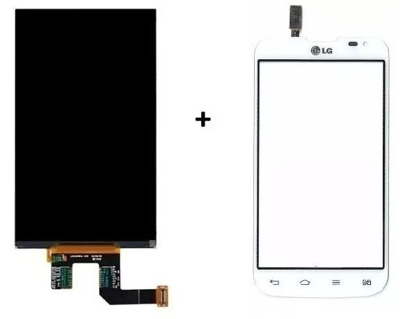 Combo Frontal Display Touch Lg L70 D325 Branco