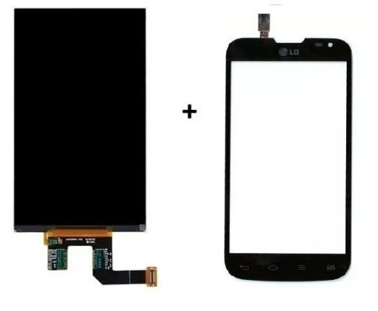 Combo Frontal Display Touch Lg L90 D410 Preto