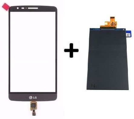 Combo Frontal Display Touch LG G3 Stylus D690 d690 Preto