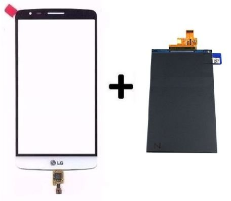 Combo Frontal Display Touch LG G3 Stylus D690 d690 Branco