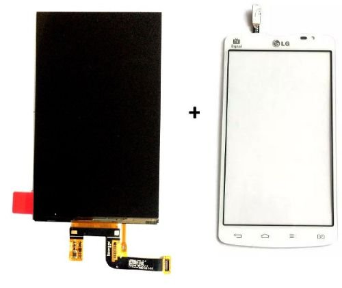 Combo Frontal Display Touch Lg L80 D380 D385 d380 d385 Branco