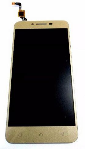 Combo Frontal Display Touch Lenovo Vibe K5 A6020 a6020 Dourado