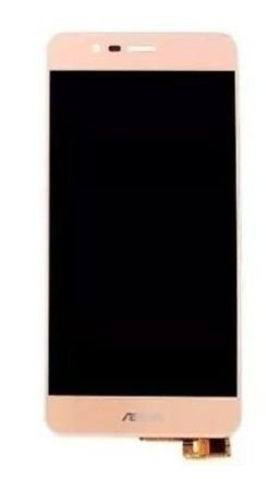 Combo Frontal Display Touch Zenfone 3 maxx zc553kl 5.5 Dourado