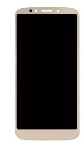 Combo Frontal Display Touch Moto E5 XT1944 xt1944 Dourado